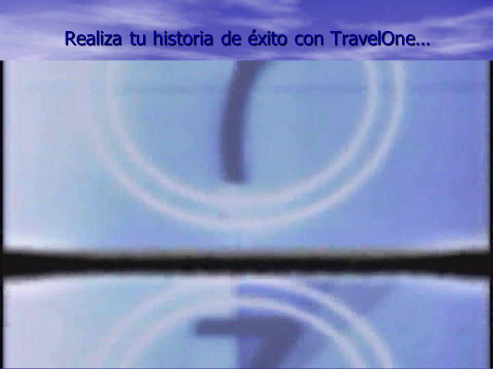 Realiza tu historia de éxito con TravelOne…