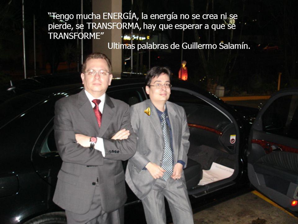Tengo mucha ENERGÍA, la energía no se crea ni se pierde, se TRANSFORMA, hay que esperar a que se TRANSFORME