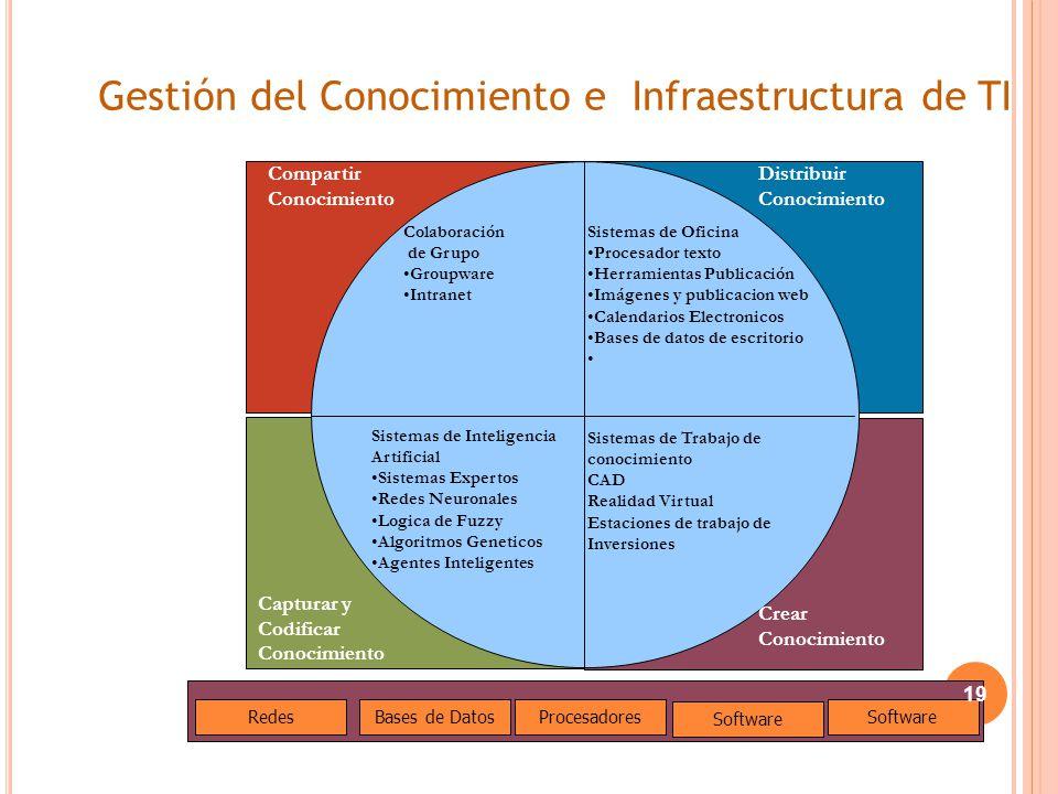 Gestión del Conocimiento e Infraestructura de TI