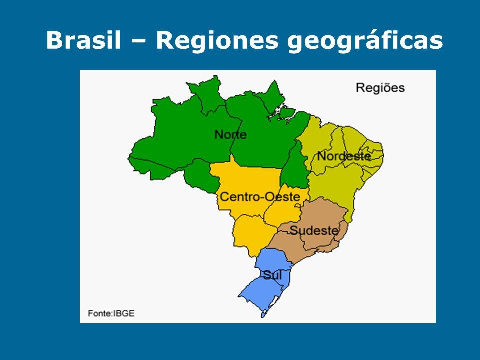 Brasil – Regiones geográficas