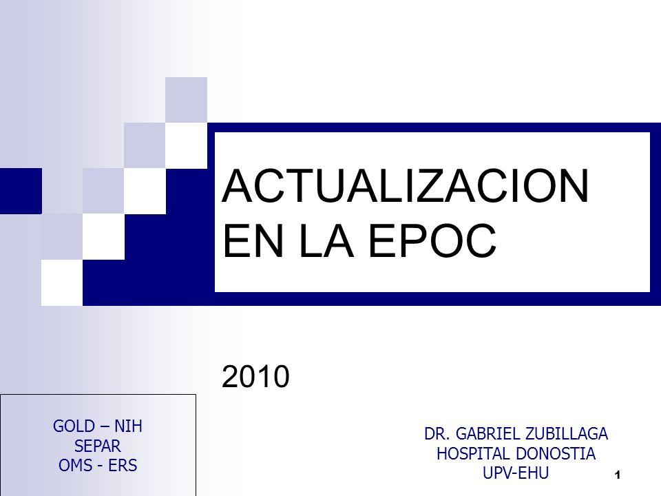 ACTUALIZACION EN LA EPOC