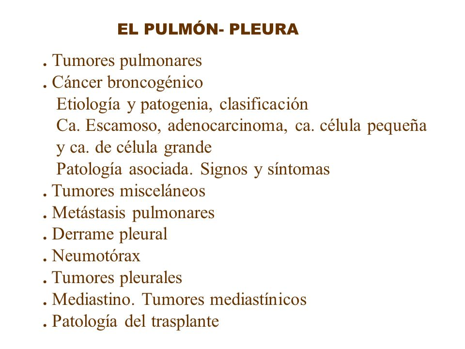 Etiología y patogenia, clasificación