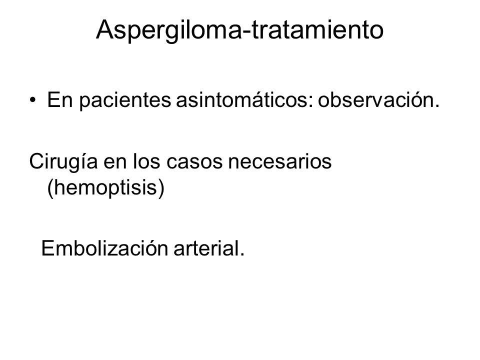 Aspergiloma-tratamiento