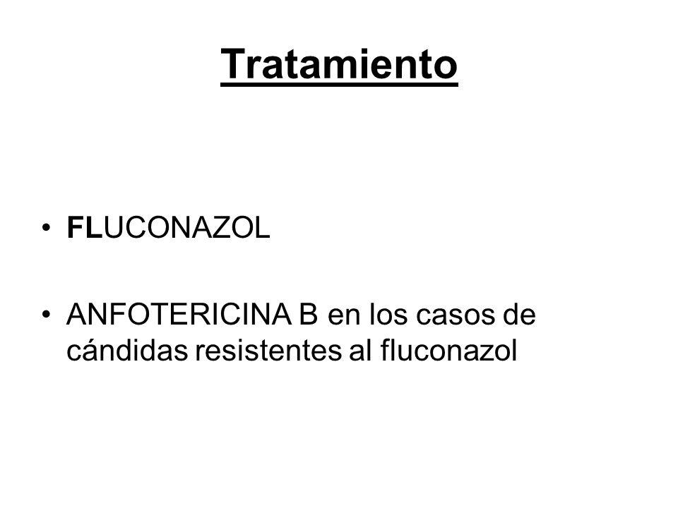 Tratamiento FLUCONAZOL