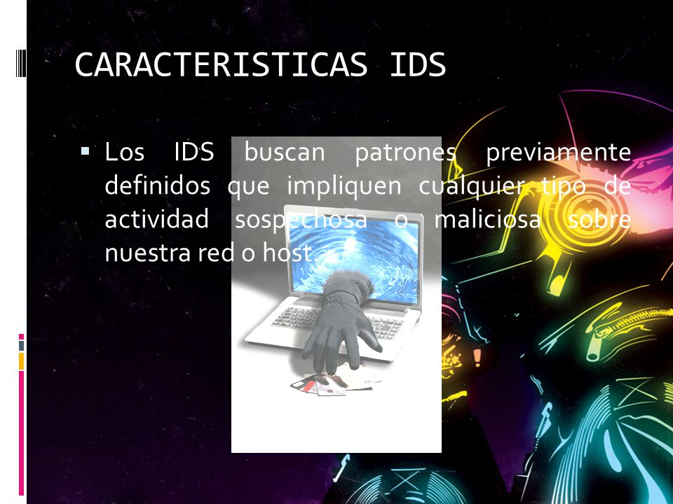 CARACTERISTICAS IDS
