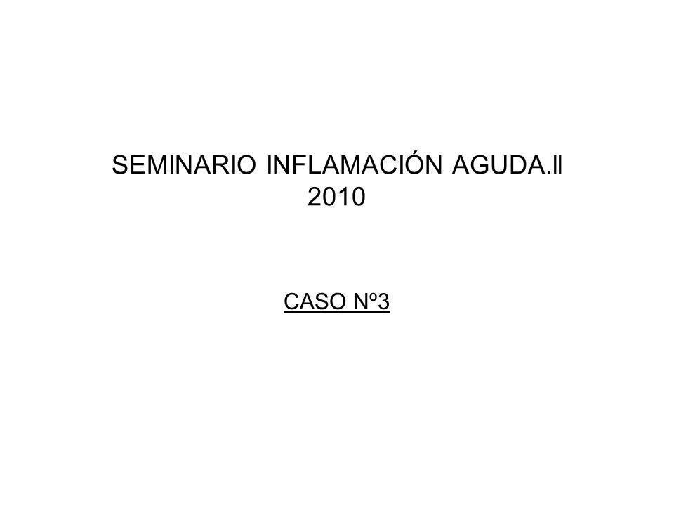 SEMINARIO INFLAMACIÓN AGUDA.ll 2010