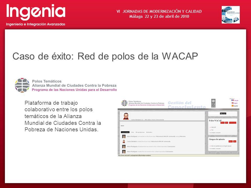 Caso de éxito: Red de polos de la WACAP