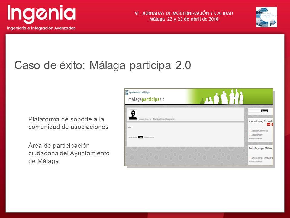 Caso de éxito: Málaga participa 2.0
