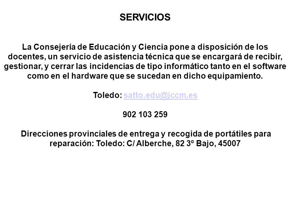 Toledo: satto.edu@jccm.es