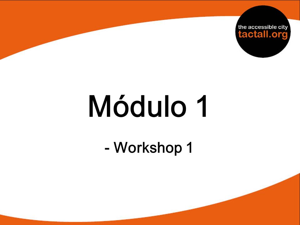 Módulo 1 - Workshop 1