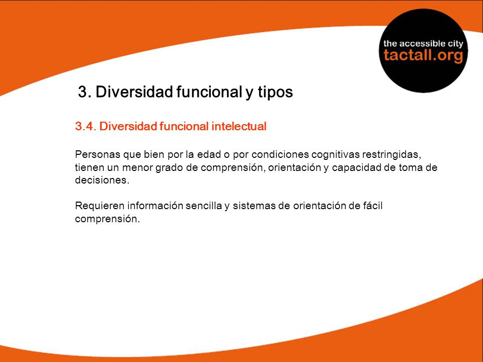3. Diversidad funcional y tipos