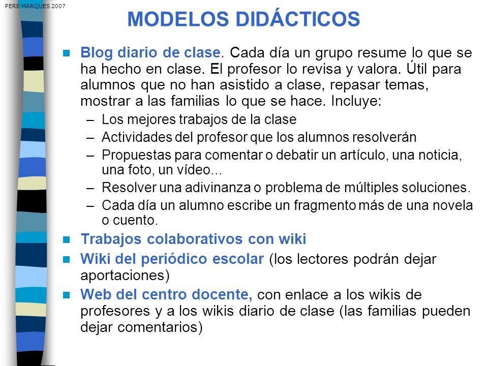 PERE MARQUES 2007 MODELOS DIDÁCTICOS.
