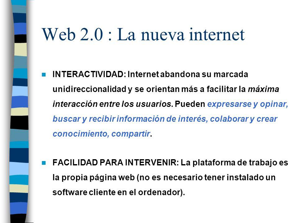 Web 2.0 : La nueva internet