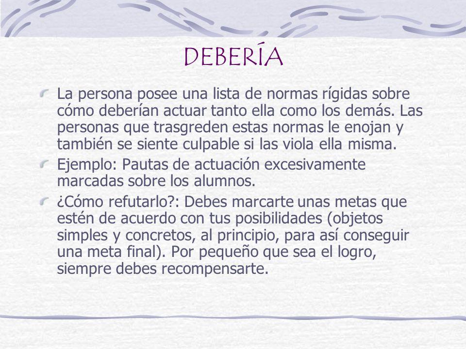 DEBERÍA