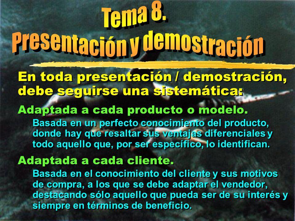 Presentación y demostración