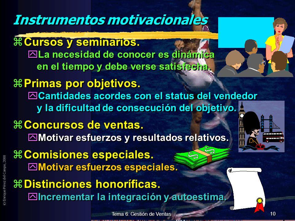 Instrumentos motivacionales