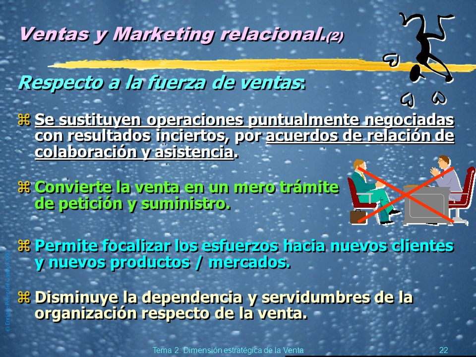Ventas y Marketing relacional.(2)