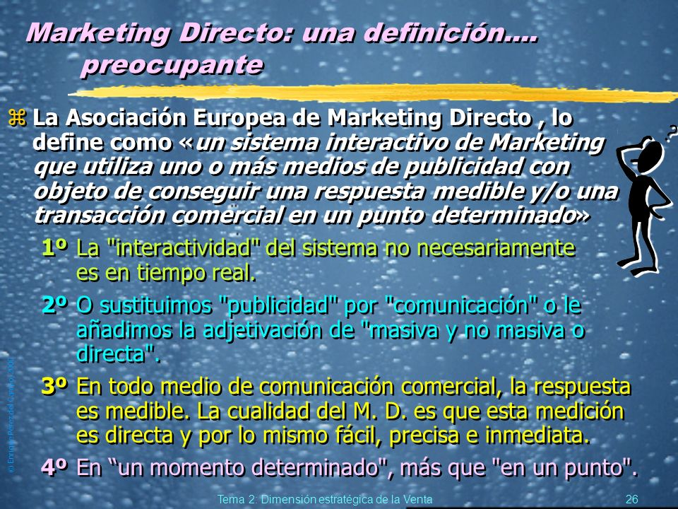 Marketing Directo: una definición.... preocupante