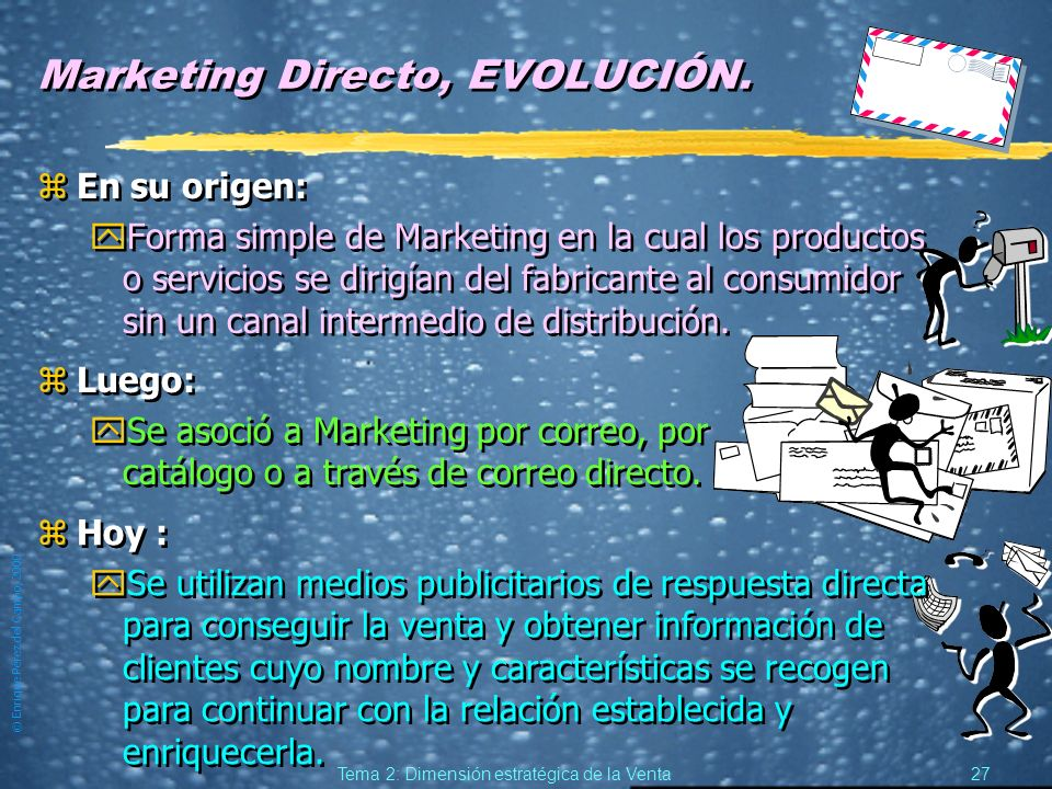 Marketing Directo, EVOLUCIÓN.