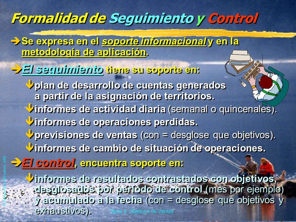 Formalidad de Seguimiento y Control
