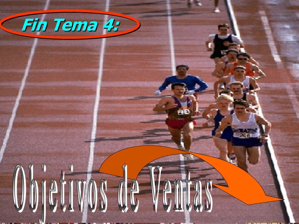 Fin Tema 4: Objetivos de Ventas