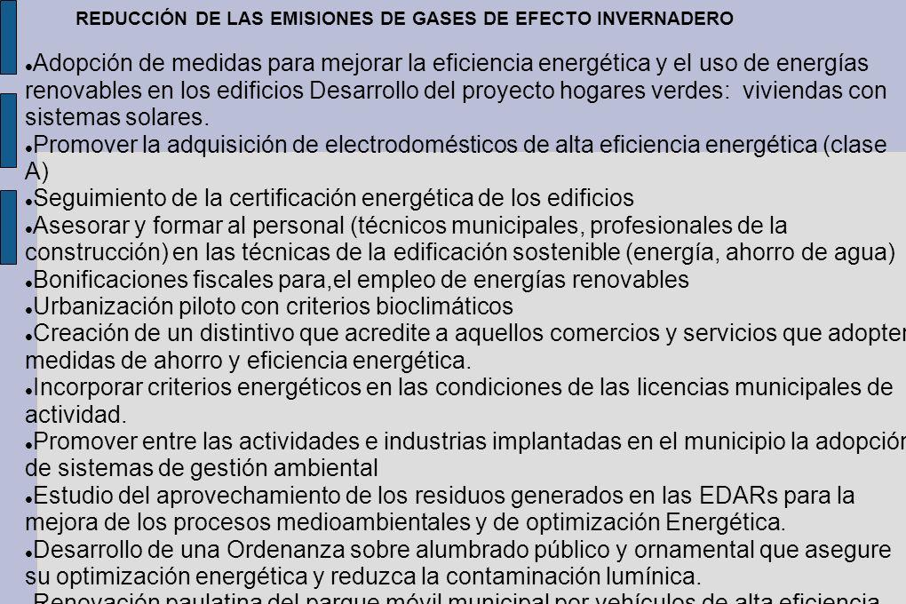 Seguimiento de la certificación energética de los edificios