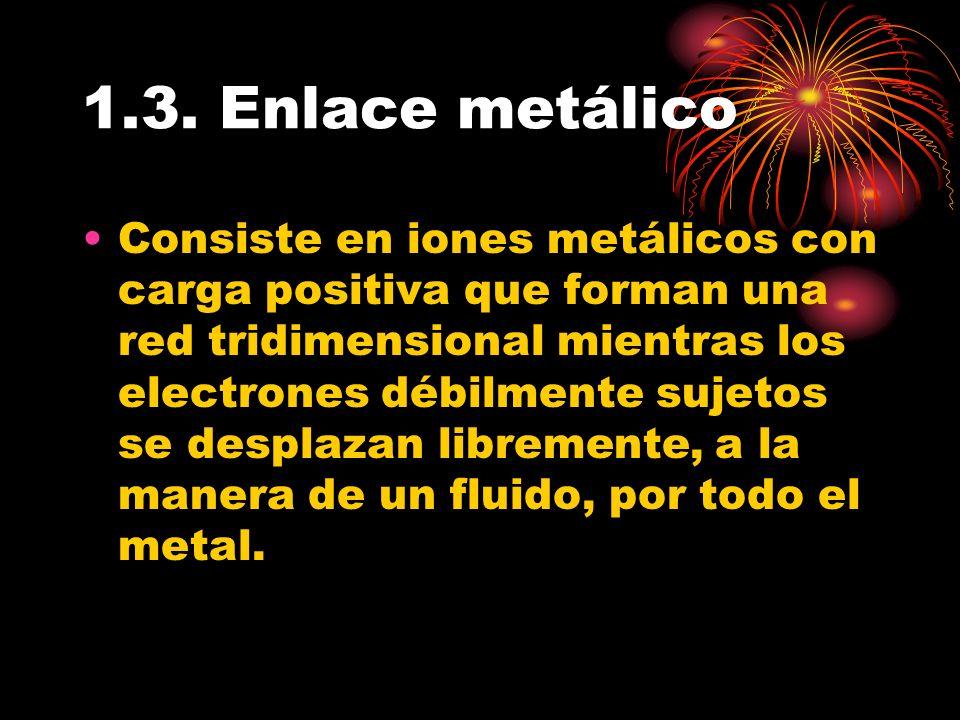 1.3. Enlace metálico