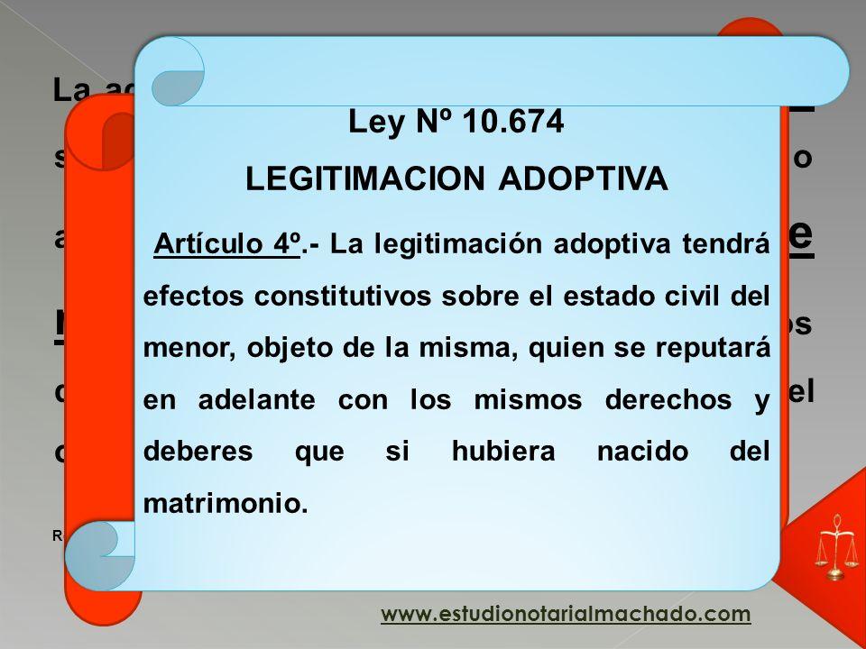 LEGITIMACION ADOPTIVA