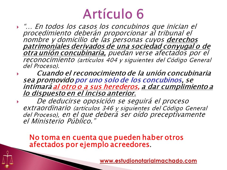 Artículo 6