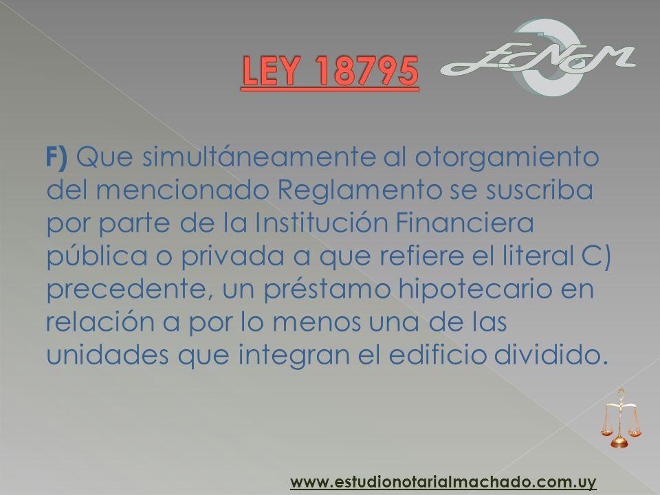 LEY 18795