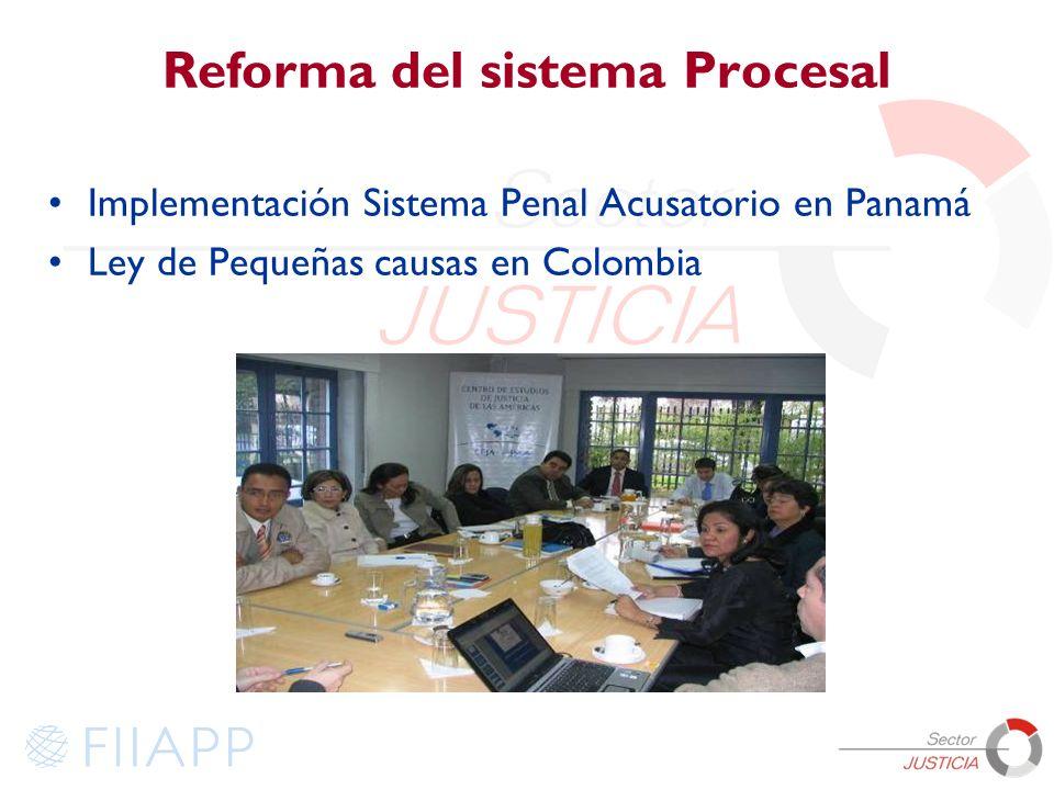 Reforma del sistema Procesal