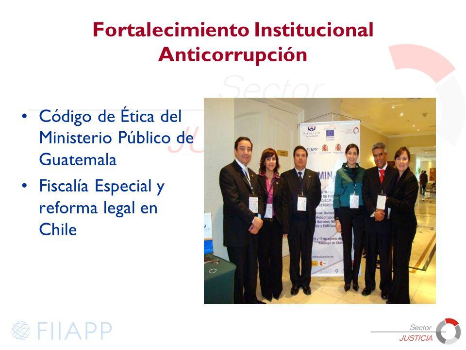 Fortalecimiento Institucional Anticorrupción