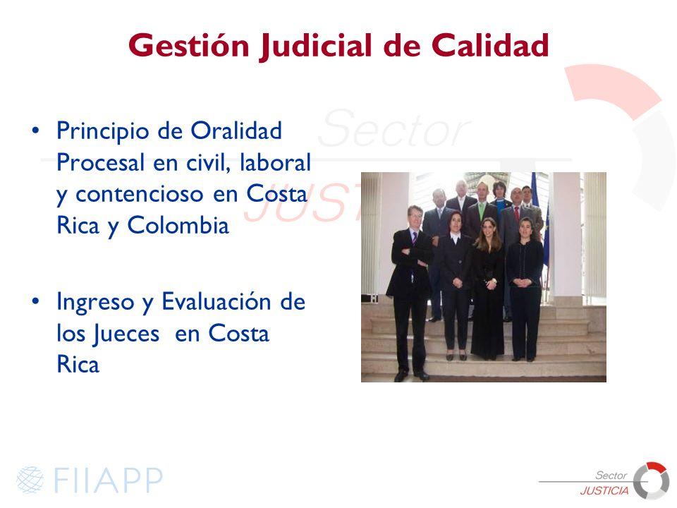 Gestión Judicial de Calidad