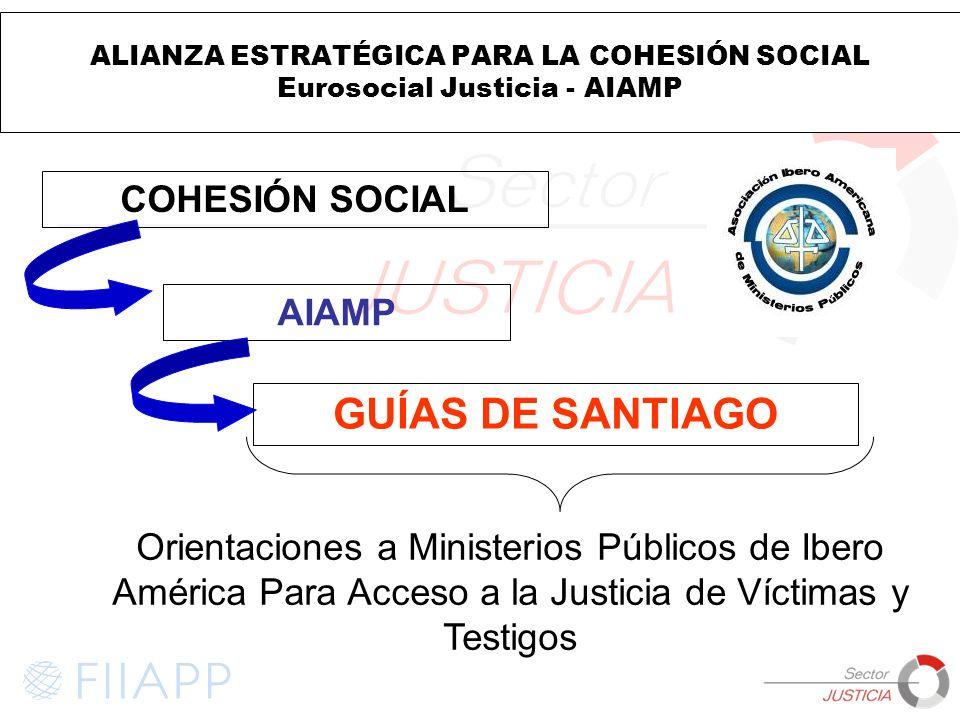 GUÍAS DE SANTIAGO COHESIÓN SOCIAL AIAMP