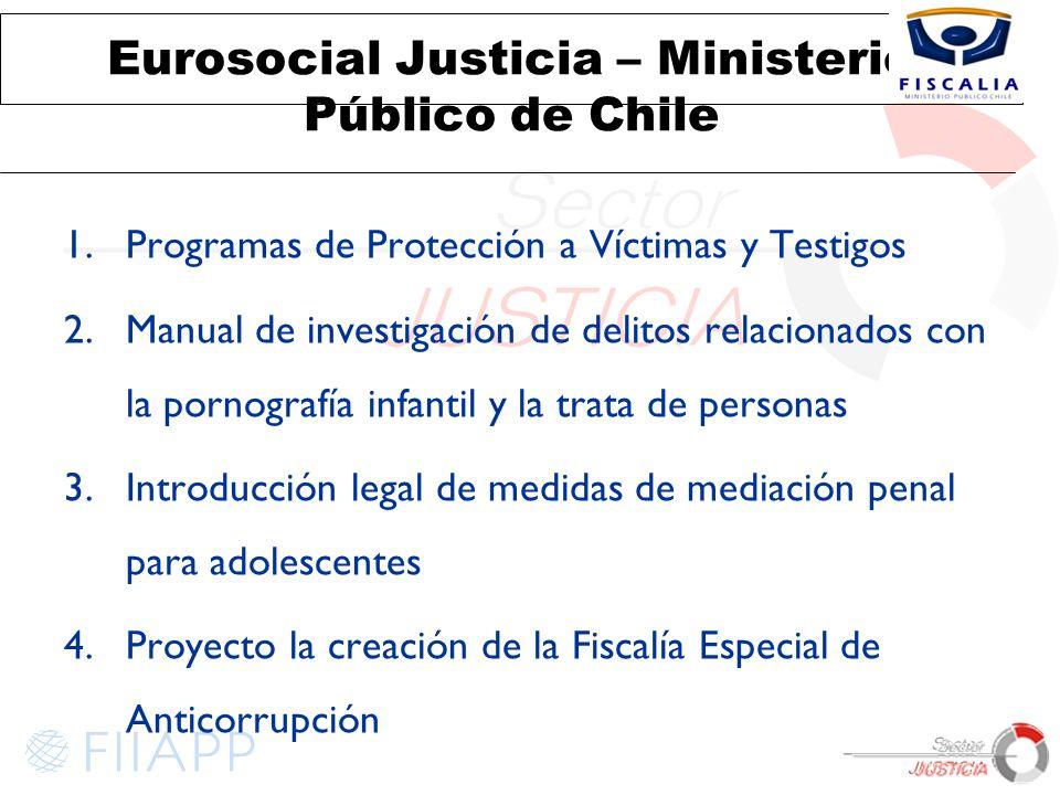 Eurosocial Justicia – Ministerio Público de Chile