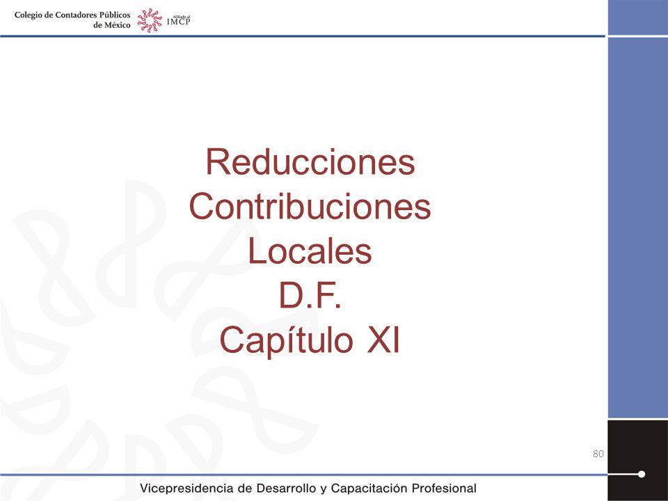 Contribuciones Locales