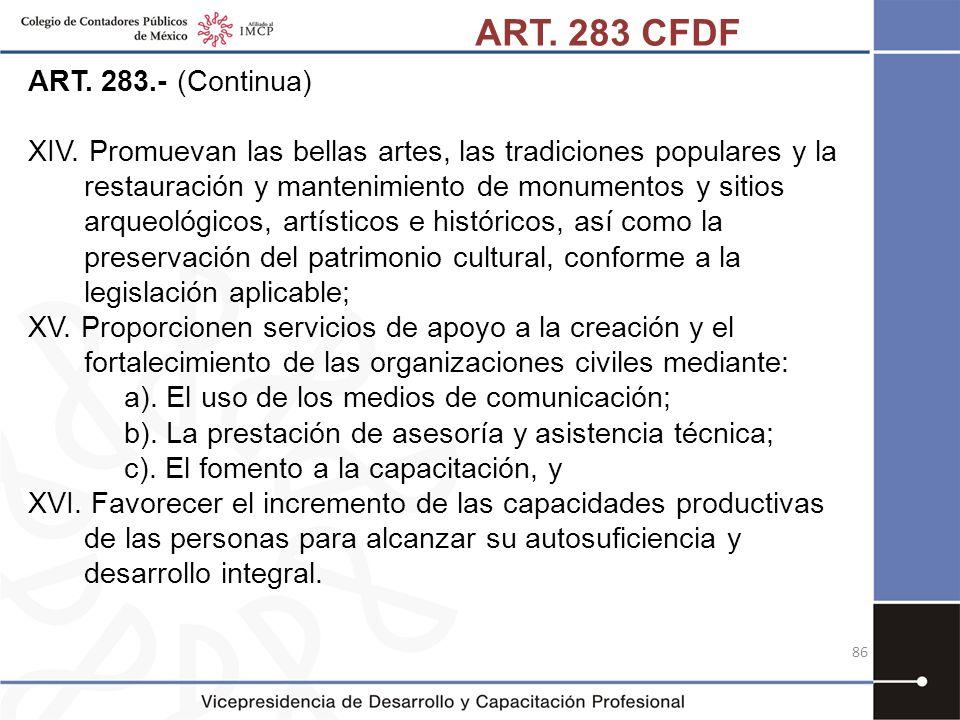 ART. 283 CFDF ART. 283.- (Continua)