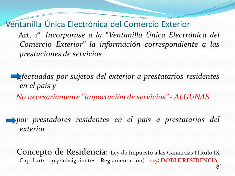 Ventanilla Única Electrónica del Comercio Exterior