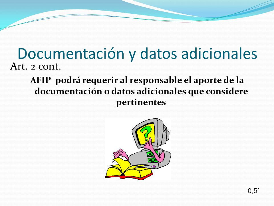 Documentación y datos adicionales