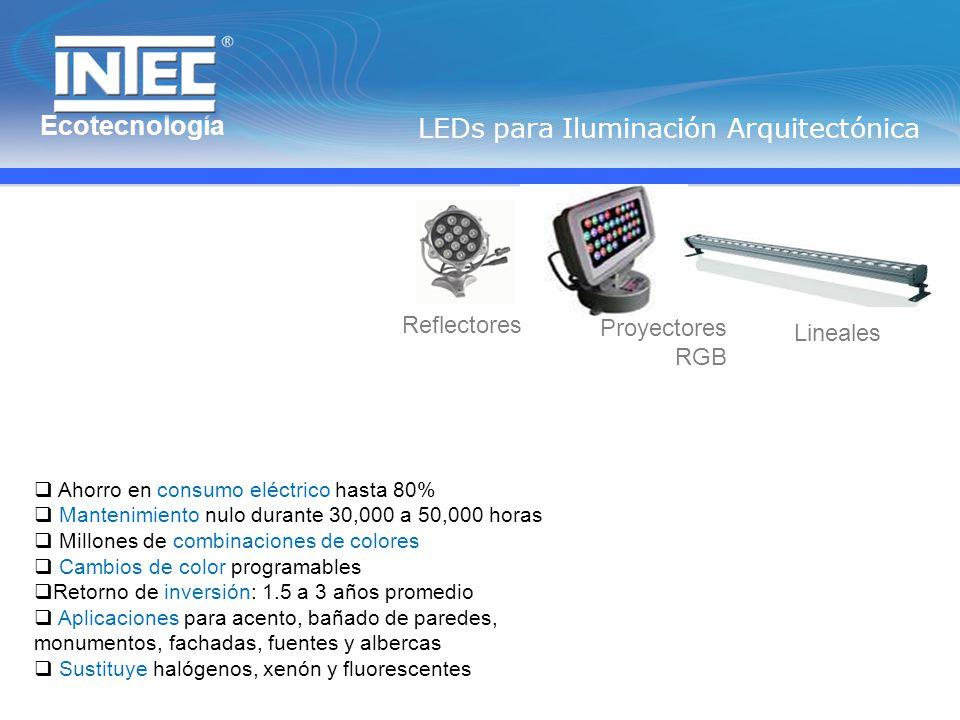 LEDs para Iluminación Arquitectónica
