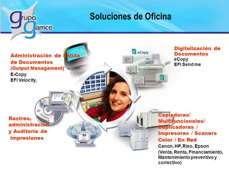 Soluciones de Oficina Digitalización de Documentos eCopy