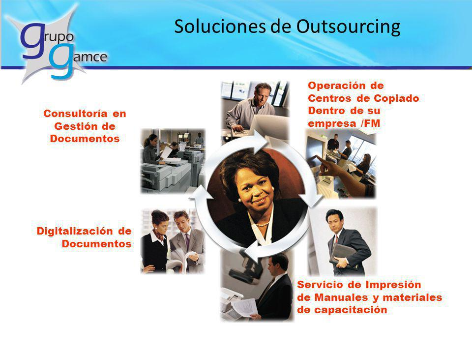 Soluciones de Outsourcing