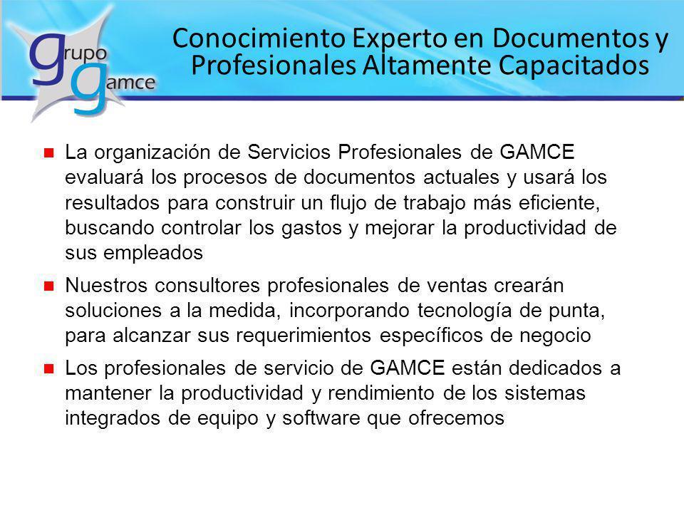 Conocimiento Experto en Documentos y Profesionales Altamente Capacitados