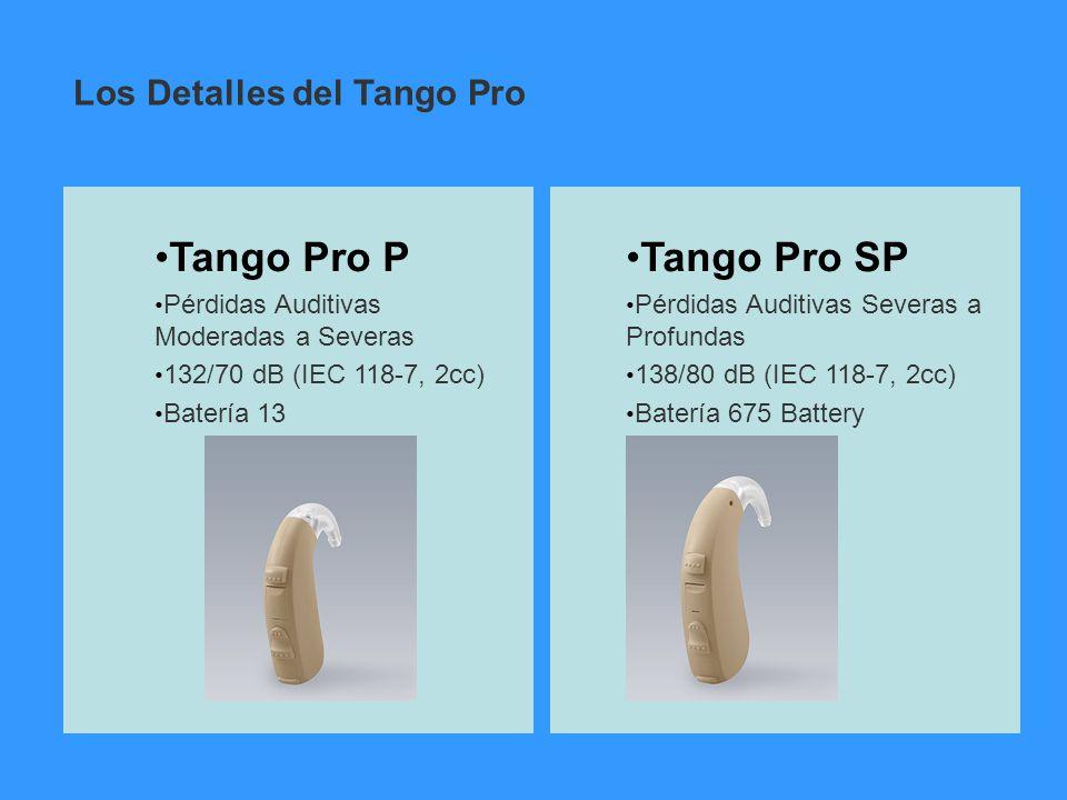 Tango Pro P Tango Pro SP Los Detalles del Tango Pro