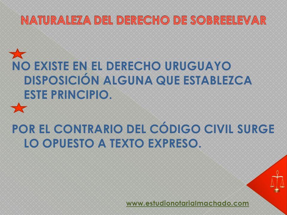 NATURALEZA DEL DERECHO DE SOBREELEVAR