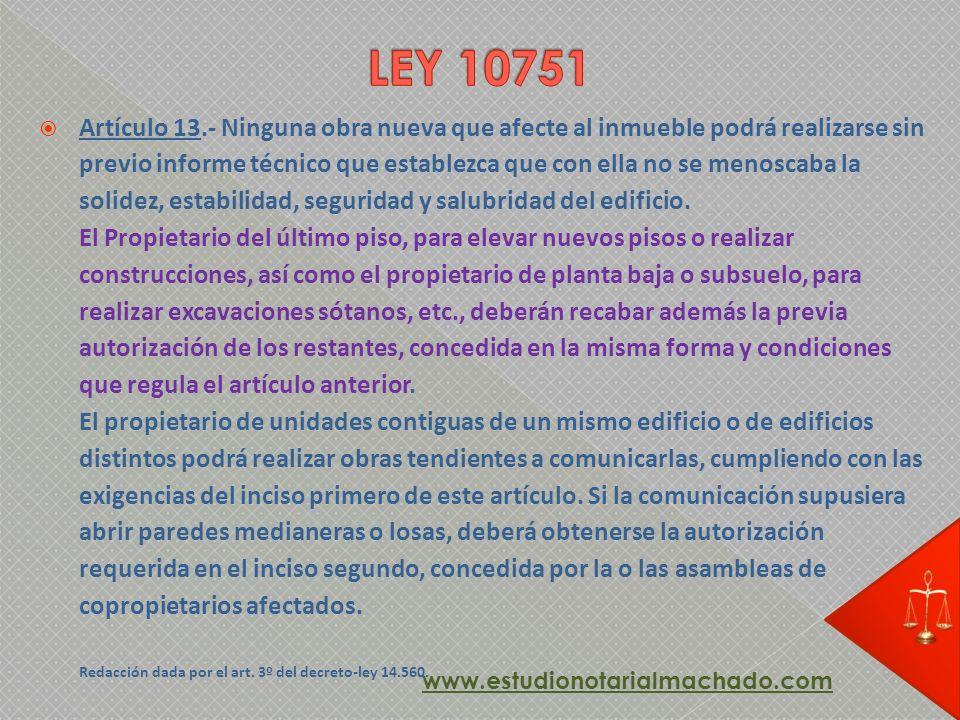 LEY 10751