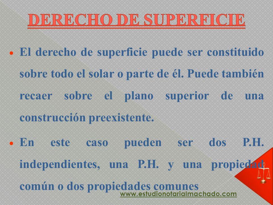 DERECHO DE SUPERFICIE
