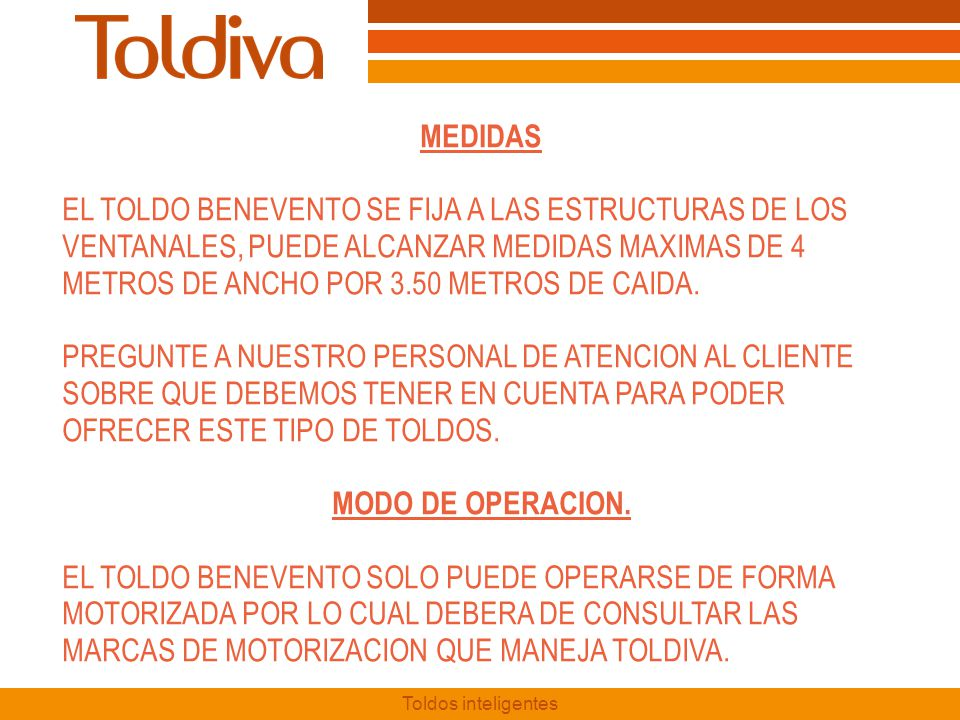 MEDIDAS MODO DE OPERACION.