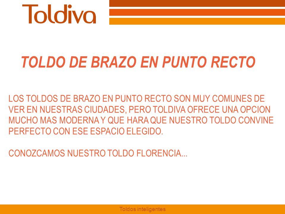 TOLDO DE BRAZO EN PUNTO RECTO