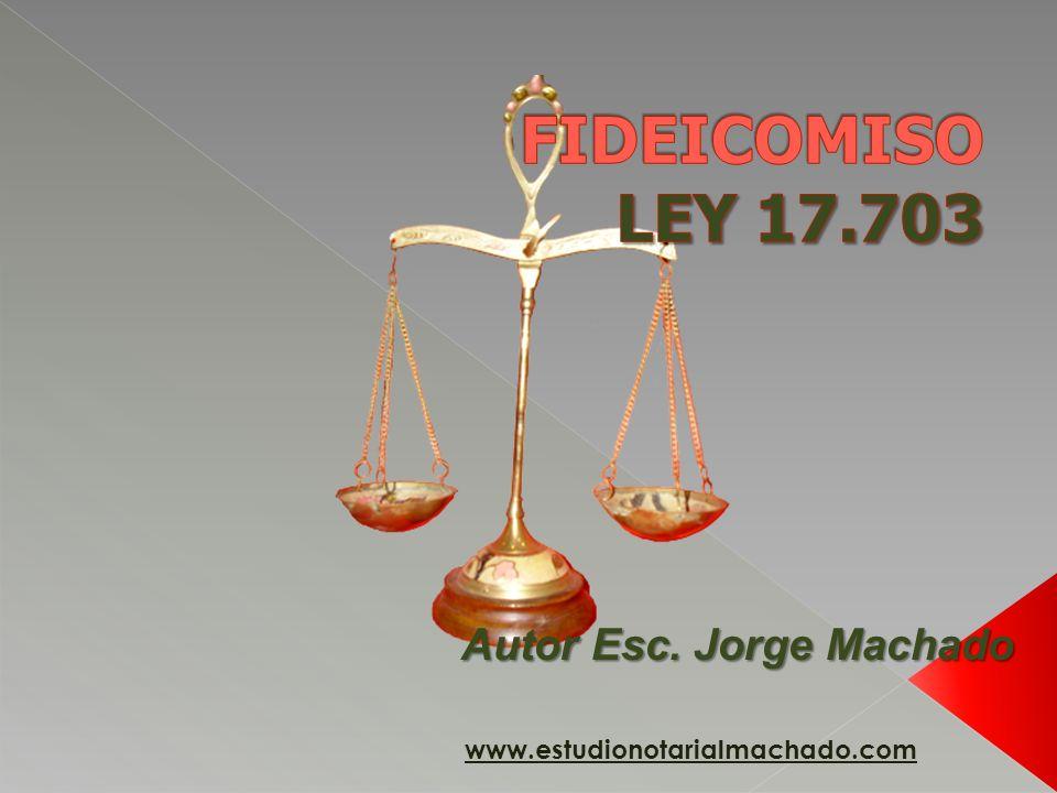 Autor Esc. Jorge Machado